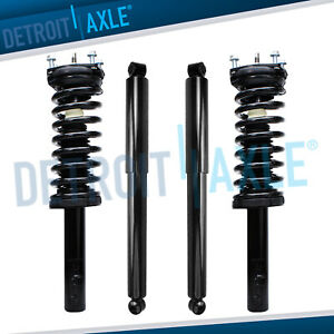 4pc Front Struts Rear Shocks For 2005 2010 Jeep Commander Grand Cherokee
