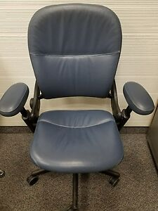 Steelcase Leather Leap Chair