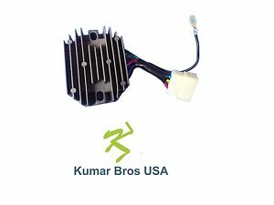 New Kubota Tractor 12v Voltage Regulator B6200d B6200e B6200hst d B6200hst e