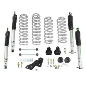 Rubicon Express 2 5 Inch Standard Coil Lift Kit With Mono Tube Shocks Re7121m