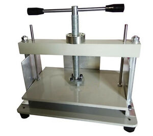 Ce A4 Size Manual Flat Paper Press Machine For Nipping Vouchers Books Invoices