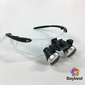 New Seiler 2 5x 340mm Black 250blkg Dental Medical Surgical Loupes W accessories