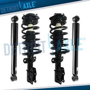 4pc 2005 2011 Chevy Cobalt Hhr Pontiac G5 Front Strut And Rear Shock 2 2l 2 4l