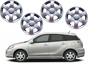 4 Pack 16 Silver Wheel Hub Caps For Toyota Matrix Tire Center New Free Shipping