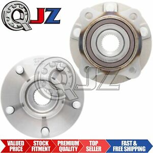 Front Pair 2008 2012 Mitsubishi Lancer Evo Awd Front Wheel Hub Oe Replacement