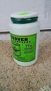 Timesaver Green Label Lapping Compound 77n Medium Time Saver 5 Lbs