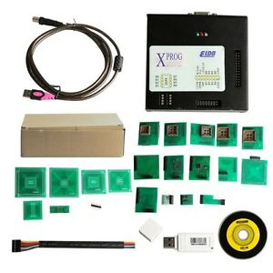 Latest X prog V5 60 Box Ecu Programmer Xprog m With Usb Dongle Decrypt Bmw Cas4