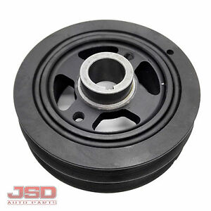 New Crankshaft Pulley Engine Harmonic Balancer For Toyota Corolla 1 6l 1993 1997