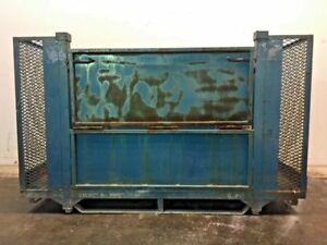 Industrial Metal Storage Bin