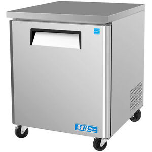 Turbo Air Muf 28 28 Commercial Undercounter Freezer Single Door Stainless