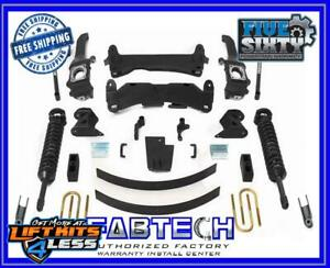 Fabtech K7035dl 6 Performance Lift Kit For 2015 Toyota Tacoma Ss 2 5 Co Res