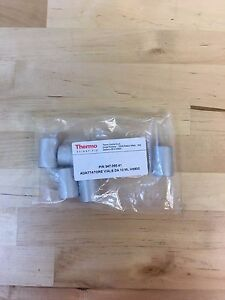 Thermo Scientific Spacer Ss 10ml Vial Set Of 6 For Trace Gc