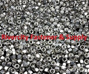 200 7 16 20 Stainless Steel Nylon Insert Lock Hex Nut Fine Thread Unf 7 16x20