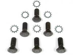 Mr Gasket 912 Flywheel Bolt Kit Black Oxide Hex Head Chevy Big Small Block V8