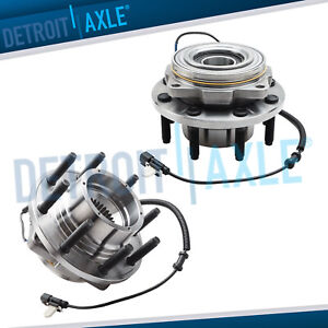 2011 2012 2013 2014 2015 2016 Ford F 250 F 350 Sd 2 Front Wheel Hub Bearings 4wd