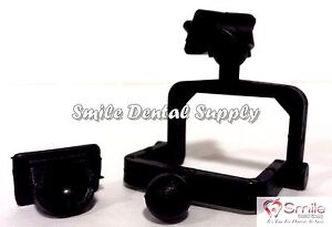 Dental Lab Disposable Plastic Articulator 100 Sets Black 604