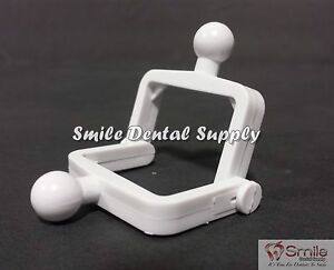 Dental Lab Disposable Plastic Articulator 500 Sets white 604