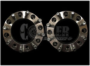 Set Of 2 Skid Steer Wheel Spacers 2 8 Lug Bobcat Case John Deere Cat Terex