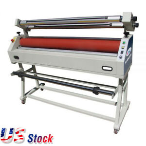 Us Stock 110v 63 Master Mounting Cold Laminator Semi auto Wide Format