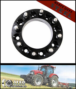 1x 2 Thick Steel Skid Steer Wheel Spacer 8x8 5 8 Studs 6 Cb Fits Case Gehl