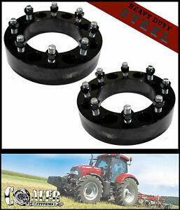 Set Of 2 Skid Steer Wheel Spacers 2 Steel Fits Bobcat Case John Deere Cat Terex