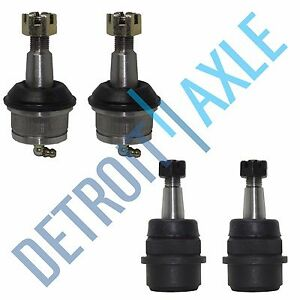 All 4 Front Upper Lower Suspension Ball Joints Jeep Grand Cherokee Wrangler