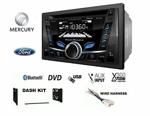 Ford Lincoln Mercury Touchscreen Bluetooth Cd Usb Radio Stereo 2 Din Dash Kit