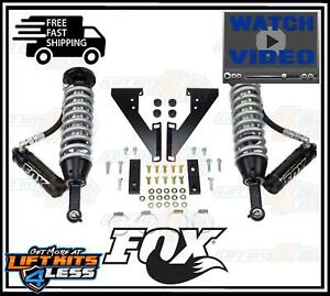 Fox 883 06 130 Front 2 5 Coil over 0 3 Lift Kit For 2003 2017 Toyota 4runner