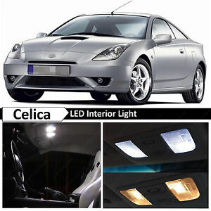 2000 2005 Toyota Celica White Interior License Plate Led Lights Package