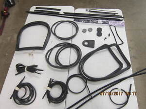 Complete Rubber Kit Fits Willys Station Wagon One Piece Windshield 60 63