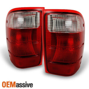 Fit 01 05 Ford Ranger Taillights Lights Lamps Replacement Pair L r 2001 2005