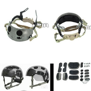 FMA Helmet Accessories ACH Occ-Dial Liner Kit Adjustable OPS-CORE TB272 BK DE
