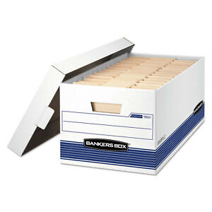 Bankers Box Stor file Storage Box Letter Locking Lid Fel0070104