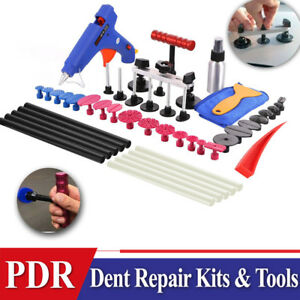 40 Car Paintless Hail Repair Pdr Dent Lifter Glue Puller Ding Removal Tools Kit