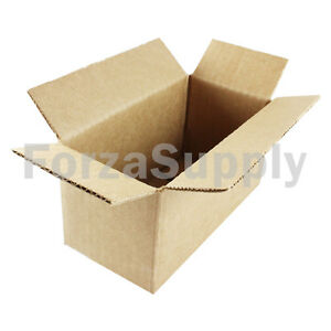 100 12x6x4 ecoswift Brand Cardboard Box Packing Mailing Shipping Corrugated