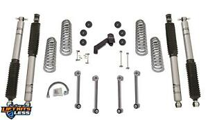 Rubicon Re7003t 3 5 Short Arm Lift Kit With Twintube Shocks For 97 06 Jeep Tj