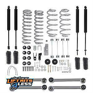Rubicon Re7030t 2 Inch Economy Lift Kit With Twin Tube Shock For 97 06 Jeep Tj