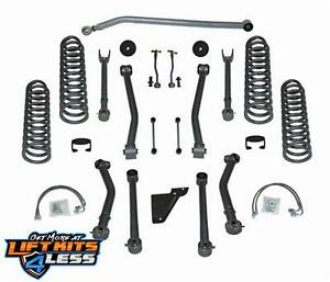 Rubicon Express 4 5 Inch Short Lift Kit 07 17 Jeep Wrangler Jk 4 Door Re7144