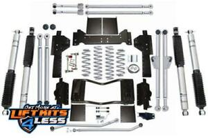 Rubicon Express 4 5 Long Lift Kit Tube Shks 93 98 Grand Cherokee Zj Re8300m