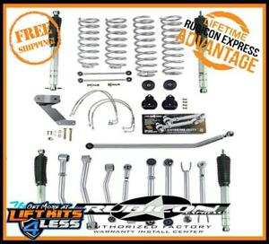 Rubicon Express Susp Lift Kit W Shocks 2007 2017 Jeep Wrangler Jk 2 Dr Re7127m