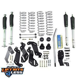 Rubicon Express Susp Lift Kit Shocks 2007 2017 Jeep Wrangler Jk 4 Dr Re7145m