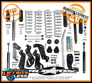 Rubicon Express Susp Lift W Shocks 2007 2017 Jeep Wrangler Jk 2 Door Re7125t