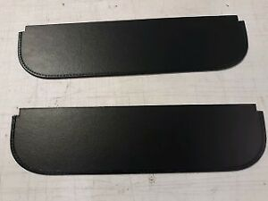 Pair Of Sun Visors Fits Willys Jeepster 48 51
