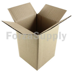 100 4x4x6 ecoswift Brand Cardboard Box Packing Mailing Shipping Corrugated