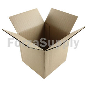 175 4x4x4 ecoswift Brand Cardboard Box Packing Mailing Shipping Corrugated