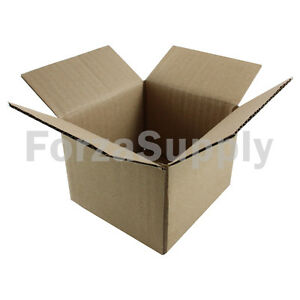 200 4x4x3 ecoswift Brand Cardboard Box Packing Mailing Shipping Corrugated
