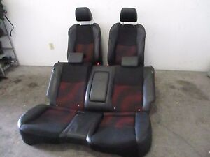 Mazda Speed 3 2010 2011 2012 2013 Seats Mazda 3 Oem Red Sports Seat Front Rear