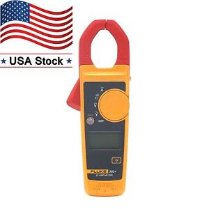Fluke 302 Clamp Meter Handheld Digital Multimeter Tester Wireless Ac Dc Volt Us