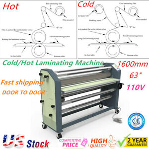 Us Stock Ving 63 New Type Full Auto Wide Format Hot Cold Laminator