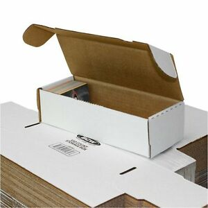 Bundle Of 50 Small White Cardboard Shipping Boxes 10 X 3 3 4 X 2 3 4